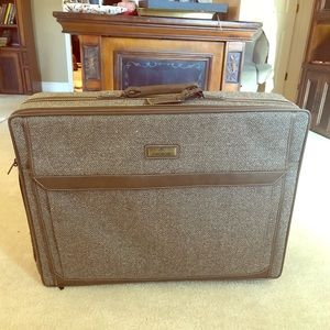 80s Large Jordache Suitcase